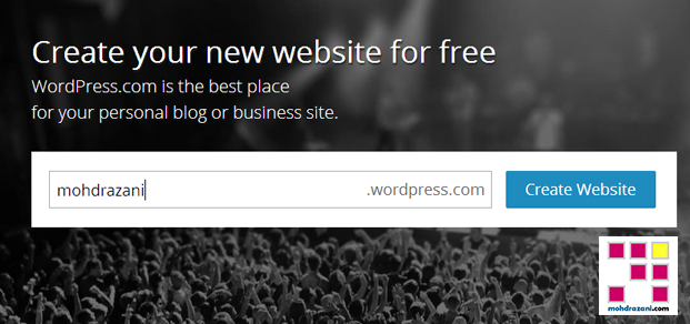 wordpress mohdrazani step1