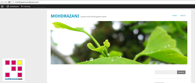 wordpress mohdrazani step9