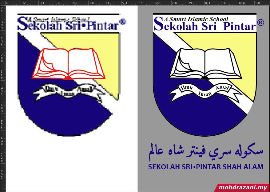 Grafik T-Shirt Sekolah Sri Pintar Shah Alam