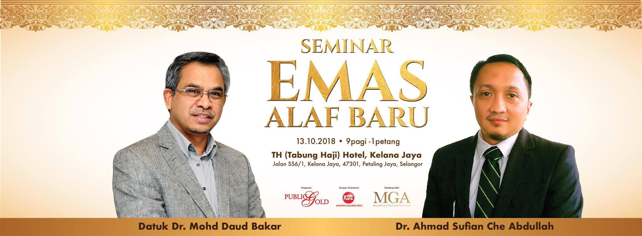 Seminar Emas Alaf Baru 2018